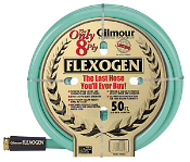Gilmour Quality. This 8 ply hose is great for commercial and heavy-duty use. Perfect for water supply or as a submersible pump discharge hose. Components are kink and crush resistant.