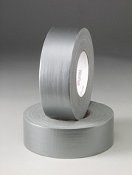 High tensile strength, very durable duct tape with clean release. Used for duct sealing, packaging and general purpose applications.