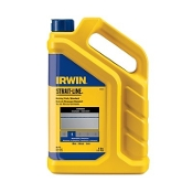 Irwin Strait-line standard marking chalk is suitable for interior or exterior use. Provides temporary marks that have great visibility. 5# bottle.