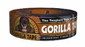 Gorilla Tape's toughness surpasses ordinary tapes. It's made with double thick adhesive, strong reinforced backing, and a tough all-weather shell.