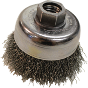 Designed to work with angle grinders for a variety of material removal applications. Constructed of a high quality, durable wire for long life.