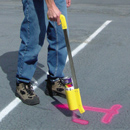 "Marking Stick for Inverted Marking Paint. Hand held inverted paint applicator. 32"" long and only 2 lb."