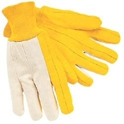Chore Glove - 100% Cotton Canvas Back, Knit Wrist (Dozen)