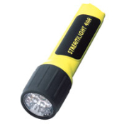 StreamLight ProPolymer 4AA LED Flashlight is impact and shock resistant and provides 155 hours of runtime on a battery installation. Light is provided by 7 white LEDs. Batteries included. Other StreamLight products available!
