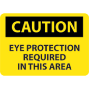 OSHA signs alert to the presence of a hazard. Rigid plastic signs are constructed of .050 rigid polystyrene. Engineered for long life and use. Radius corners and predrilled corner mounting holes for fast and easy installation.