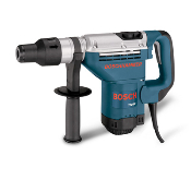 "Bosch SDS Max Combination Rotary Hammer has a 2 position switch that allows a rotary hammer or hammer only mode. Bits change quickly and lock in place without tools. Can drive a solid bit up to 1 9/16"" diameter and a core bit up to 4"" diameter."
