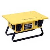 "CEP's ""G"" Series Portable Power Distribution Centers are engineered utilizing the latest in GFCI technology, providing the highest level of electrical safety. U.L. Listed for outdoor use. Meeting current OSHA standards"