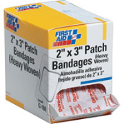 Our assortment of bandages and pads are the primary staple in most first aid kits, providing superior protection for cuts, scrapes and burns as well as lacerations. Available in various sizes and multiples!