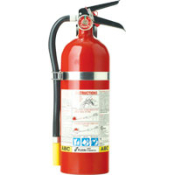 Kidde 5 lb ABC FC340M-VB Fire Extinguishers are designed to provide an extra measure of safety in your vehicles. Supplied with metal retention bracket. Ground ship or local delivery only.