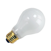 Use this rough service bulb in construction light strings and in applications where a rough service bulb is desirable or required.