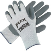 MCR Flex-Therm Premium Supported Gloves have an acrylic/cotton/polyester shell that provides extra thermal protection in cold weather or refrigerated areas.