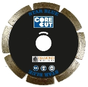 "These Star Blue Small Diameter Dry Cut Diamond Blades are 4"" X .070"" X 7/8"" - 20mm and suitable for use on a circular saw or angle grinder for General Purpose concrete cutting"
