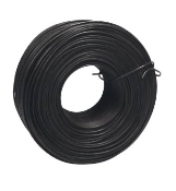 Rebar Tie Wire is made from black annealed metal pliable enough to form a variety of tie configurations. Each box has 20) 400' rolls of 16 1/2 gauge wire.