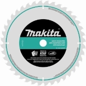 Makita micro-polished miter saw blades have an altermate top and alternate face tooth design for ultra precision cutting of hardwood, softwood, and plywood. 80 Micro-grain carbide teeth.