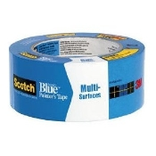 ScotchBlue Painter's Tape Original Multi-Surface #2090 delivers sharp paint lines and removes cleanly without surface damage.