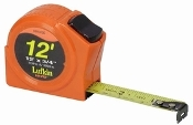 "Tape Measure - Standard and Engineer Scales, 3/4"" X 12' Lufkin"