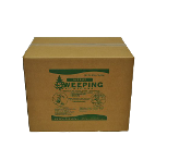 A blend of screened pine sawdust and refined wax designed to control dust and shine the floor while sweeping. For use on all tile and waxable flooring. 40# box.