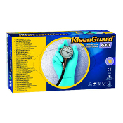 "KIMBERLY-CLARK PROFESSIONAL* KLEENGUARD* G10 6 mil 9"" Blue Nitrile Gloves designed for tasks requiring maximum dexterity without sacrificing protection."