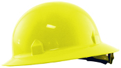 Jackson Safety's Blockhead hard hats meet all applicable requirements for a Type I (top impact) helmet as outlined in ANSI/ISEA Z89.1 Class C, G, and E. Light weight design for comfort. 8 Point Ratchet Suspension.