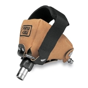 "Porter Cable's palm nailer has an ergonomic, compact design. Four different nose tips give a capacity range from 1-1/4"" to 6-1/2"" (3d to 70d), and plenty of power providing 2300 BPM @ 100psi."