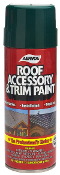 Aervoe Roof Accessory & Trim Paint is specially formulated for exterior use on roofing accessories.