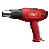 This professional heat gun offers ergonomic style and powerful heating elements. With a stay cool handle and heat shields, you can use this heat gun all day and still stay cool. This model offers 570 degree and 1000 degree temperature ranges.