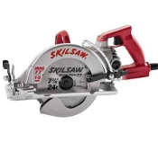 "The Model #SHD77M 7 1/4"" Worm Drive Skilsaw® is about as common on jobsites as dimensional lumber and it's 2 LBS lighter than aluminum models."