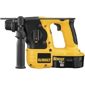 The DeWalt DC212KA Kit includes a 1 hour charger, 2) 18V XRP™ batteries, depth rod, 360 degree handle, and case. 1.7 ft-lbs impact energy provides corded power without the cord.