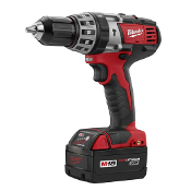 "The Milwaukee M18™ Cordless Lithium-Ion ½"" Hammer Drill/Driver is the most compact hammer drill/driver in its class and is up to 20% faster in concrete than the competition. Bare tool."