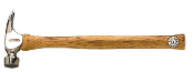 "This Dalluge hammer features an 18"" straight American hickory handle ergonomically designed to improve balance while reducing shock transfer. Handle color may vary"