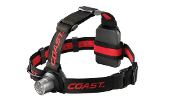 The Coast HL5 LED Headlamp combines brightness, long battery life and low cost. Batteries Included