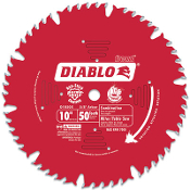 Ideal for ripping and crosscutting wood & wood composites with the goal of a smooth finish. The best choice for a table saw when one blade is needed for ripping and crosscutting.