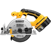 "3,700 RPM for fast rip cuts and cross cuts. Uses a 6-1/2"" carbide tipped blade for 2x cutting capacity at 90° and 45°"