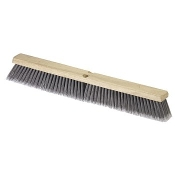 "Fine sweep broom heads are available in 24"" and 36"" widths with 3"" bristles. The soft flagged polypropylene bristles are great for sweeping fine particles and dust."