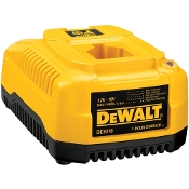 Charges all DEWALT® 7.2V - 18V NiCd/NiMH/Li-Ion batteries (except Univolt batteries). This charger services multiple DeWalt cordless products