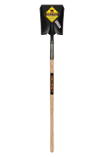 "Round or Square Shovel with Closed Back and 48"" Hardwood Handle BEST Quality"