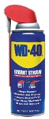 WD-40's lubricating ingredients are widely dispersed and hold firmly to all moving parts. Smart Straw Technology allows either stream or spray while never losing the straw.