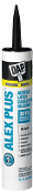 America's #1 selling latex caulk. ALEX PLUS® is a superior quality, all-purpose acrylic latex caulk plus silicone.