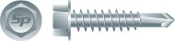 Intercorp fasteners flagship brand, Strong-Point, consists of a variety of high-end fasteners including zinc plated premium carbon steel drill tip screws for fastening metal to metal.