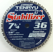 "Ideal for cutting steel studs, steel sheet, steel pipe and other mild steel 1/8"" - 1/4"" thick"