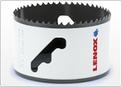 Get Lenox Bi-Metal Speed Slot® Hole Saws With T3 Technology™ - 50% Longer Life 2X More Durable than the previous generation