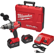 The M18 FUEL™ Drill/Driver is the Most Powerful 18-volt cordless drill on the market