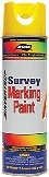 Superior quality upside-down marking paint designed for survey marking.