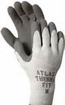 The Atlas Therma-fit cold weather glove combines a mixture of acrylic loop-in Terry cotton liner for warmth and a light-weight feel. It's ideal for working in cold rooms or outside in cold weather conditions.