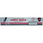 "The Carpet Shieldâ""¢ self-adhering film protects carpets from paint, dust and debris during remodeling saving time and clean up costs. (Similar to picture)"