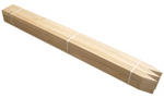 "Wood Stakes - 24"", 36"", and 48"" X 1"" X 2"". Pointed Lath 5/16"" X 2"" X 48. Bundles of 50."