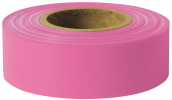 "Presco or similar quality! Coarse Matte Flagging Tape, 1-3/16"" x 150'. Available in boxes of 12 rolls."