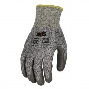 Radians Axis™ Level 3 Cut Protection gloves provide protection against puncture, tear, abrasion, and cuts.